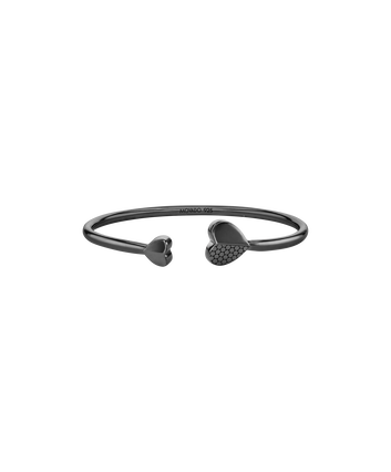 MOVADO Movado Heart Bracelet1840026 – Movado Heart Black Bangle - Front view