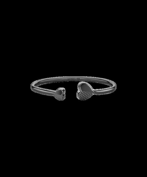 MOVADO Movado Heart Bracelet1840026 – Movado Heart Black Bangle - Front view