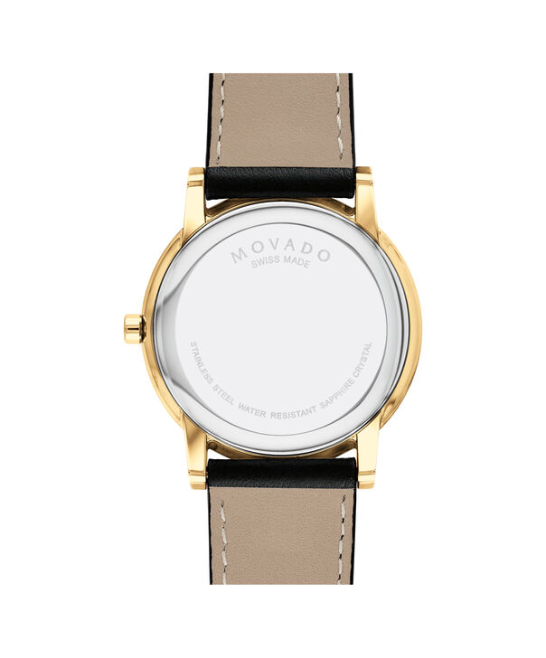 MOVADO Museum Classic0607271 – Men's 40 mm strap watch - Back view