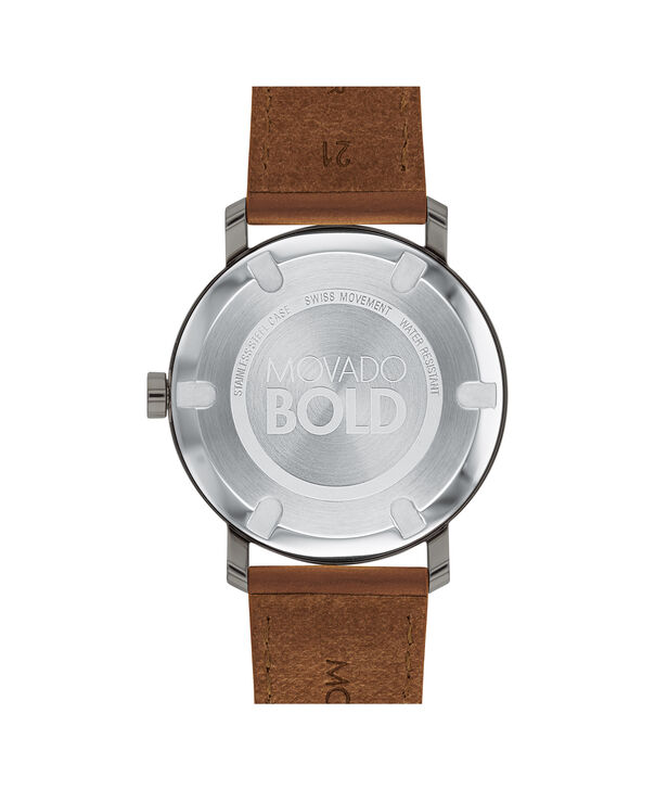 MOVADO Movado BOLD3600506 – Men's 40 mm strap watch - Back view