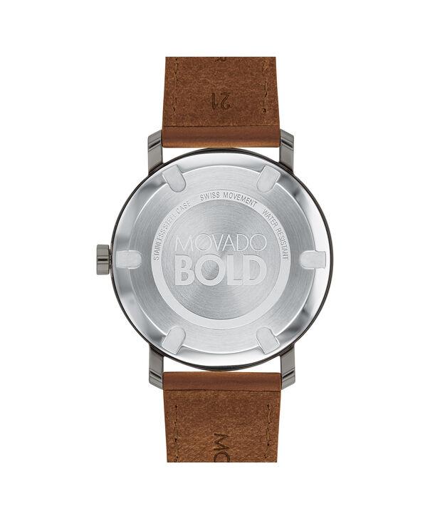 MOVADO Movado BOLD3600506 – Men's 40 mm strap watch - Back view