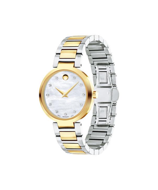 MOVADO Modern Classic0607103 – Montre-bracelet à cadran de 28 mm pour femmes - Side view