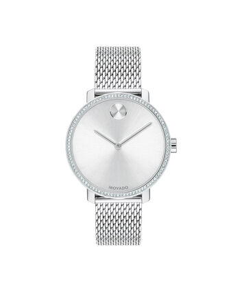 MOVADO Movado BOLD Shimmer3600655 – 34mm Movado BOLD on Mesh Bracelet - Front view