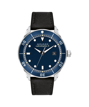 MOVADO Heritage Series3650093 – Calendoplan S Diver Heritage Series 43 mm - Front view