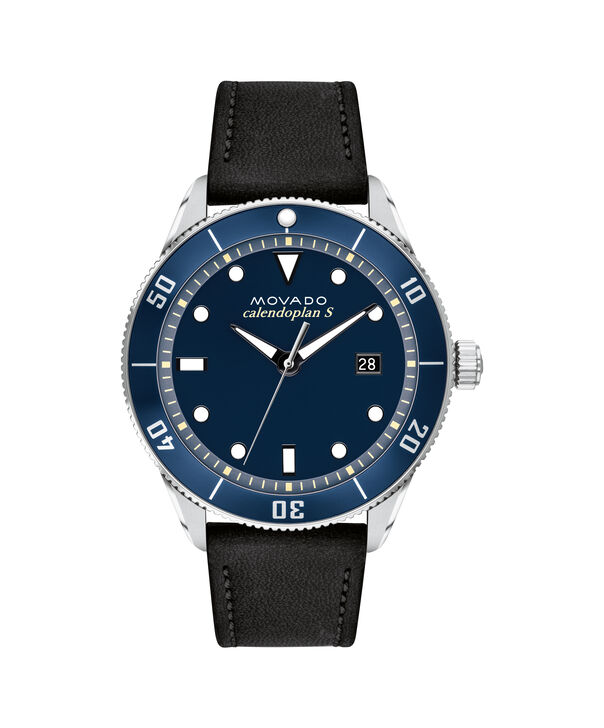 MOVADO Heritage Series3650093 – 43mm Heritage Series Calendoplan S Diver - Front view