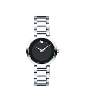 MOVADO Modern Classic0607101 – Montre-bracelet à cadran de 28 mm pour femmes - Front view