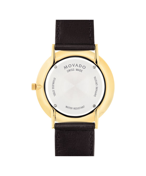 MOVADO Movado Ultra Slim0607088 – Men's 40 mm strap watch - Back view