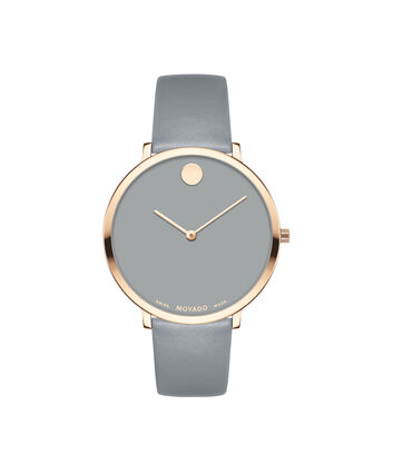 MOVADO Modern 470607337 – 35 mm Modern 47 on Strap - Front view