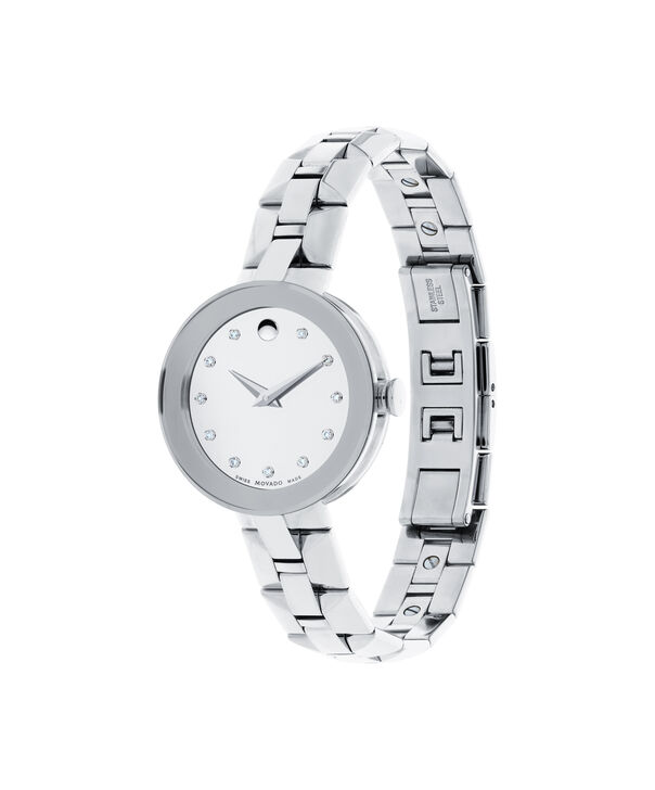 MOVADO Sapphire0606814 – Women's 28 mm bracelet watch - Side view