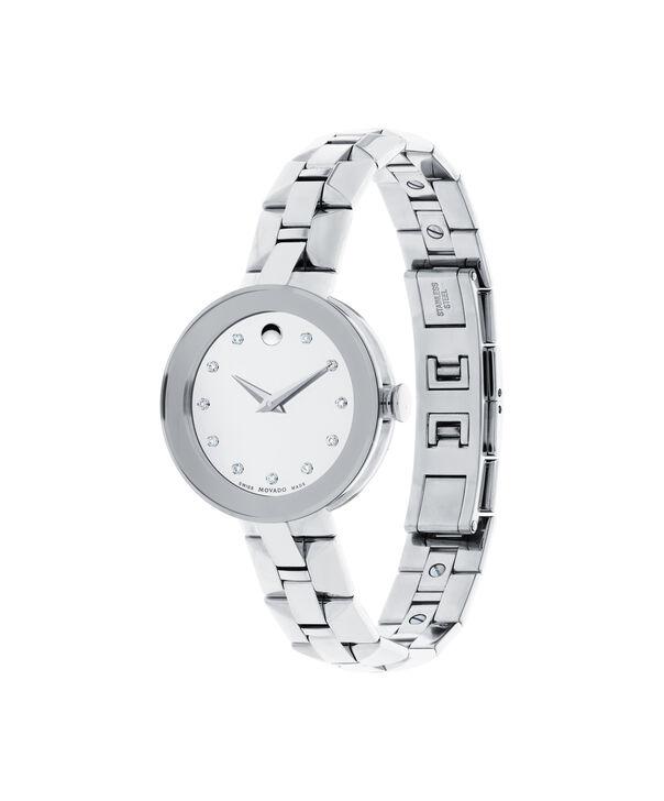 MOVADO Sapphire0606814 – Montre-bracelet à cadran de 28 mm pour femmes - Side view