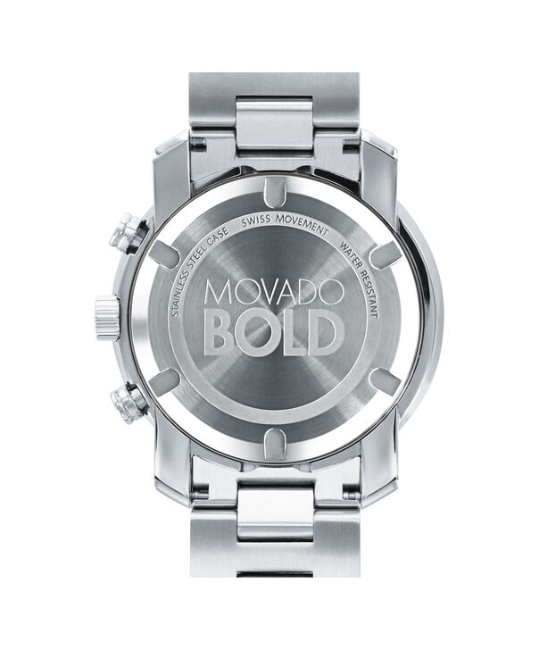 MOVADO Movado BOLD3600432 – Chronographe de 44 mm en métal - Back view