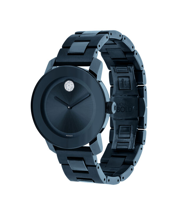 MOVADO Movado BOLD3600388 – Montre de 36 mm avec bracelet en métal - Side view