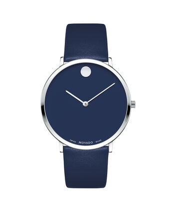 MOVADO Modern 470607257 – Movado.com EXCLUSIVE 40mm strap watch - Front view