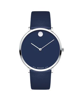 MOVADO Modern 470607257 – Movado.com EXCLUSIVE montre à bracelet souple - Front view
