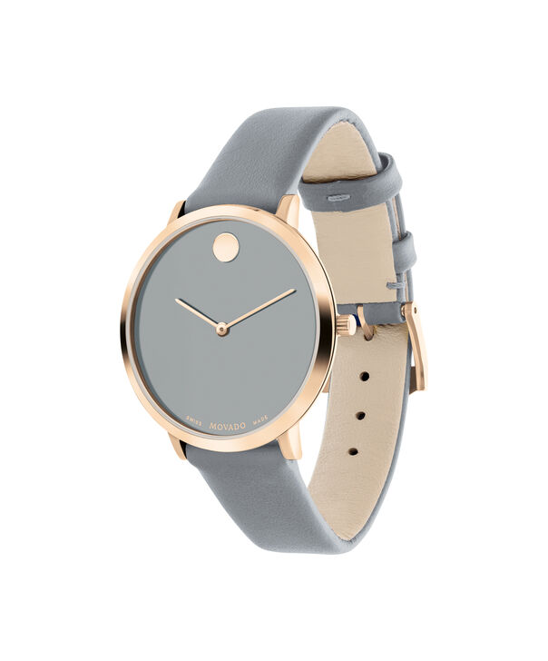 MOVADO Modern 470607337 – 35 mm Modern 47 on Strap - Side view