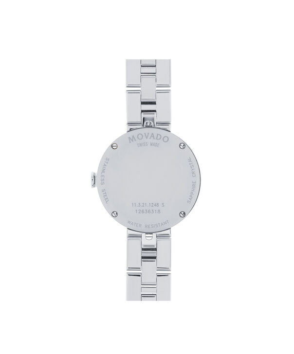 MOVADO Sapphire0606814 – Women's 28 mm bracelet watch - Back view