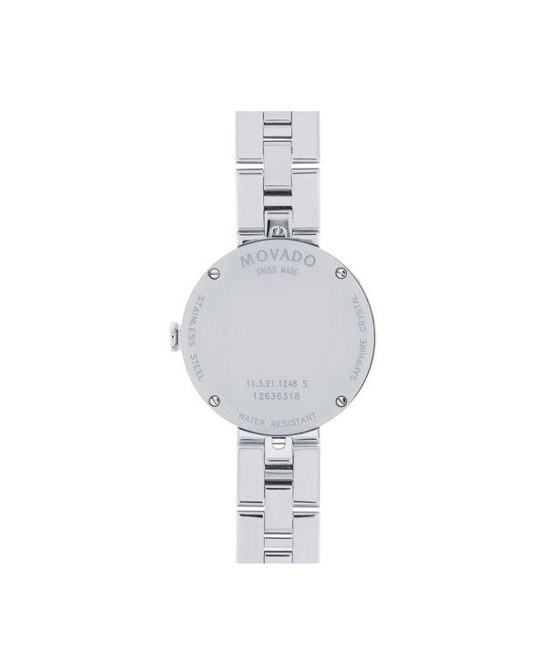 MOVADO Sapphire0606814 – Montre-bracelet à cadran de 28 mm pour femmes - Back view