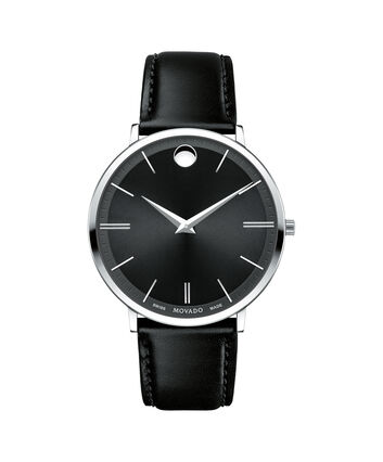 MOVADO Movado Ultra Slim0607086 – Men's 40 mm strap watch - Front view