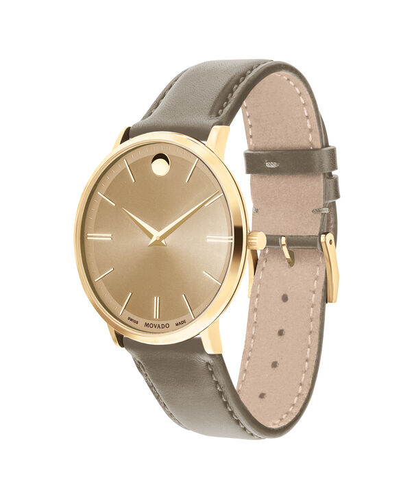 MOVADO Movado Ultra Slim0607375 – 40 mm Ultra Slim on Strap - Side view