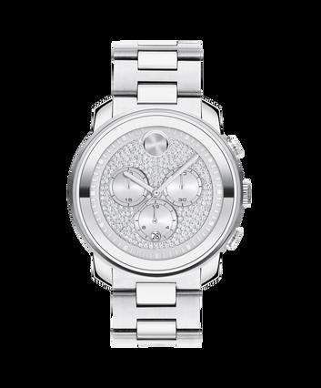MOVADO Movado BOLD Metal3600666 – Chronographe Movado BOLD Metal de 42 mm, bracelet - Front view