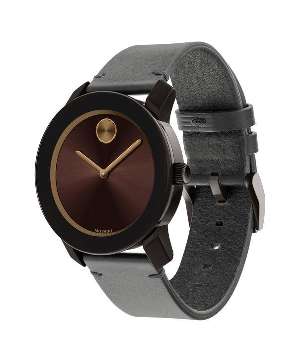 MOVADO Movado BOLD3600455 – 42mm Colorado leather strap watch - Side view