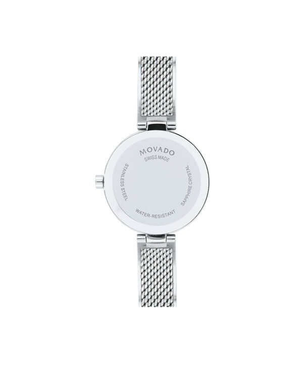 MOVADO Amika0607361 – 27mm Amika Mesh Bangle - Back view