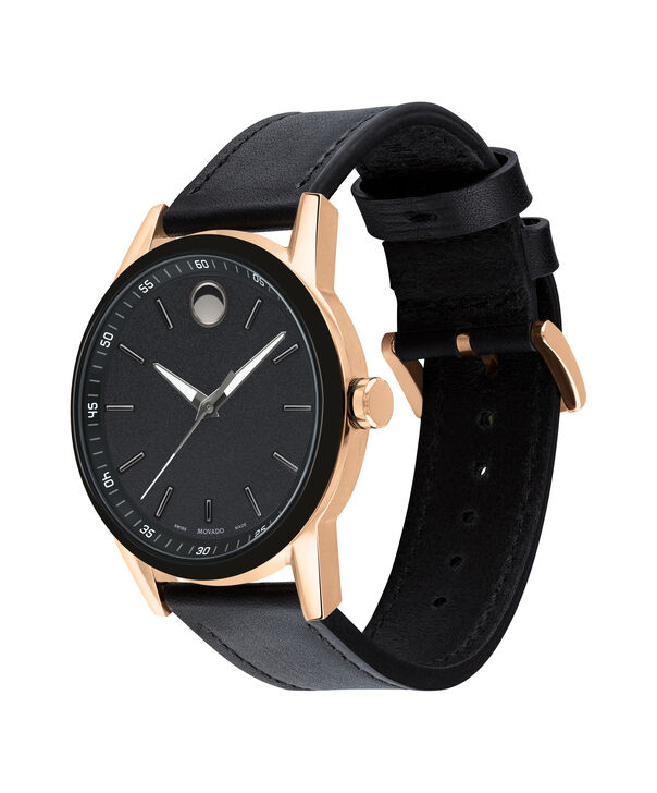 MOVADO Museum Sport0607358 – Museum Sport 42mm Leather Strap - Side view