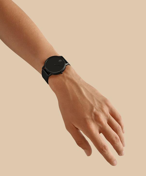 MOVADO Movado Face3640002 – Men's 41 mm strap watch - Back view