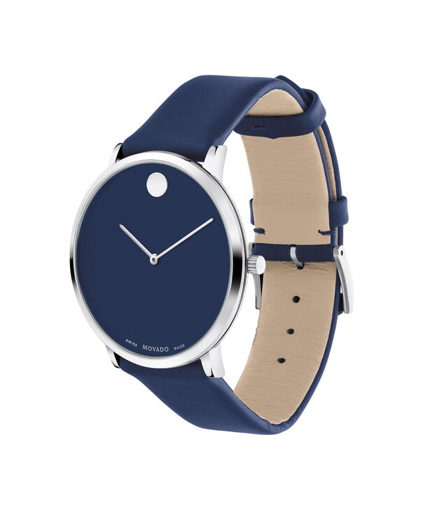 MOVADO Modern 470607257 – Movado.com EXCLUSIVE 40mm strap watch - Side view