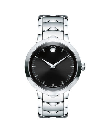 MOVADO Luno0607041 – Men's 40 mm bracelet watch - Front view