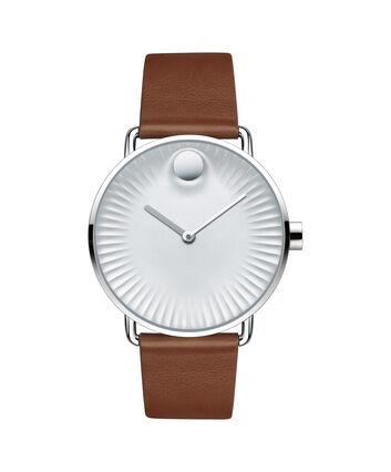 MOVADO Movado Edge3680038 – Men's 40 mm strap watch - Front view