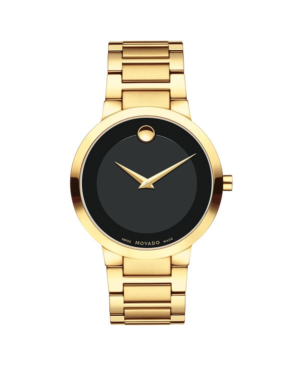 MOVADO Modern Classic0607121 – Men's 40 mm strap watch - Front view
