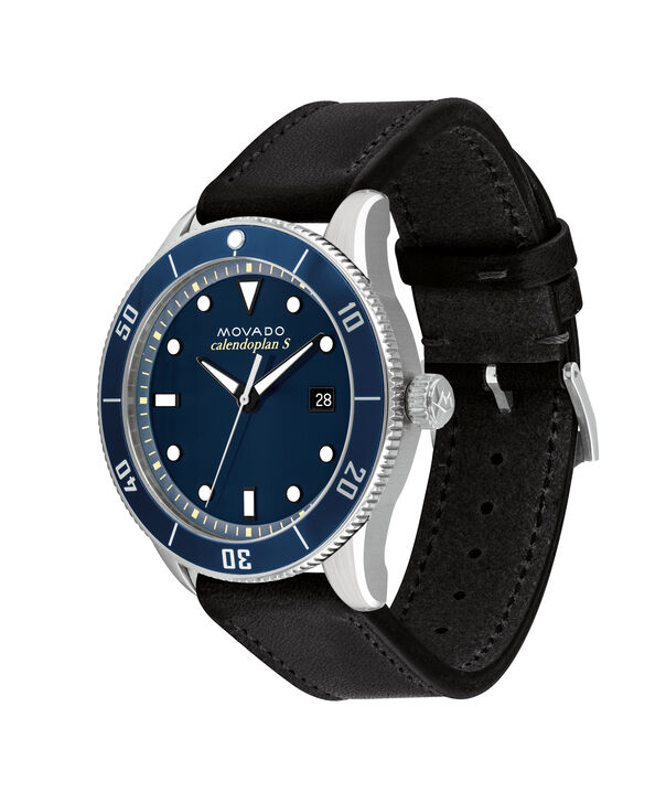 MOVADO Heritage Series3650093 – 43mm Heritage Series Calendoplan S Diver - Side view
