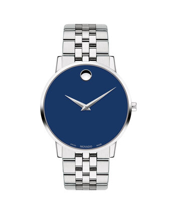 MOVADO Museum Classic0607212 – Men's 40 mm bracelet watch - Front view