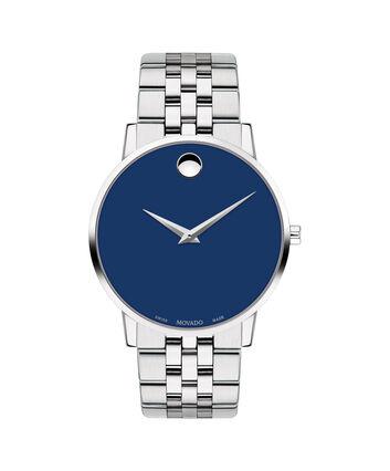 MOVADO Museum Classic0607212 – Montre-bracelet à cadran de 40 mm pour hommes - Front view