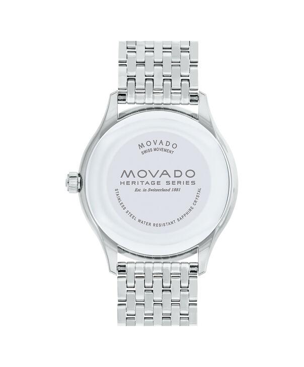 MOVADO Movado Heritage Series3650012 – Men's 40 mm bracelet watch - Back view