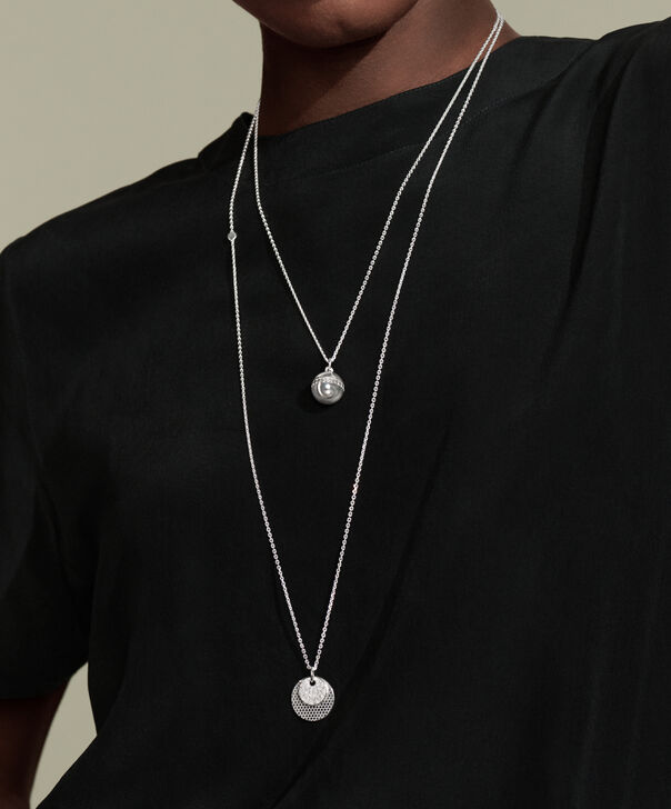 MOVADO Movado Sphere Necklace1840010 – Movado Sphere Bead Charm Necklace - Back view