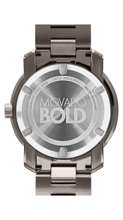 MOVADO Movado BOLD3600259 – Montre-bracelet de 42,5 mm en métal - Back view