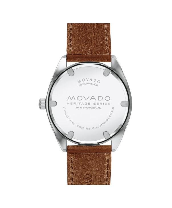 MOVADO Movado Heritage Series3650057 – Montre de 39 mm pour hommes - Back view