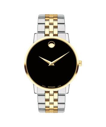 MOVADO Museum Classic0607200 – Montre-bracelet à cadran de 40 mm pour hommes - Front view