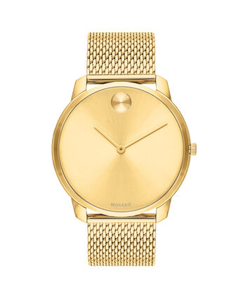 MOVADO Movado Bold3600588 – 42mm BOLD Thin on Mesh - Front view