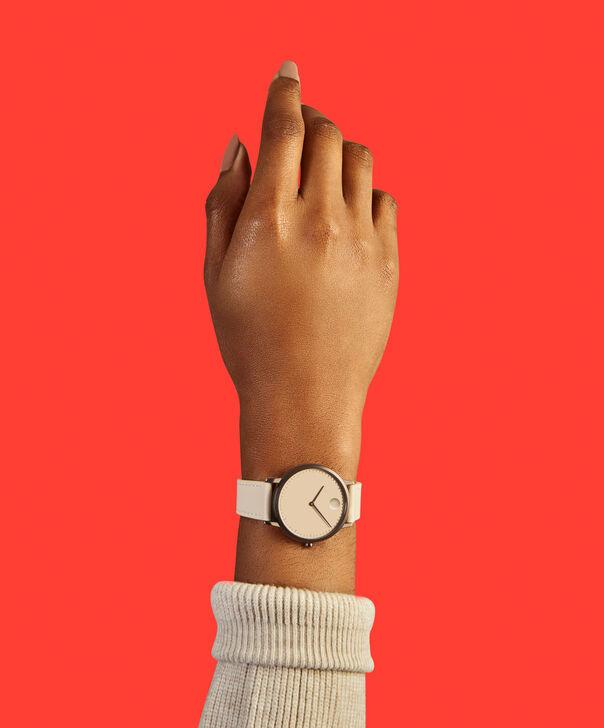 MOVADO Movado Face3640012 – Women's 35 mm strap watch - Back view