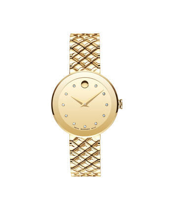 MOVADO Sapphire0607107 – Women's 30 mm bracelet watch - Front view