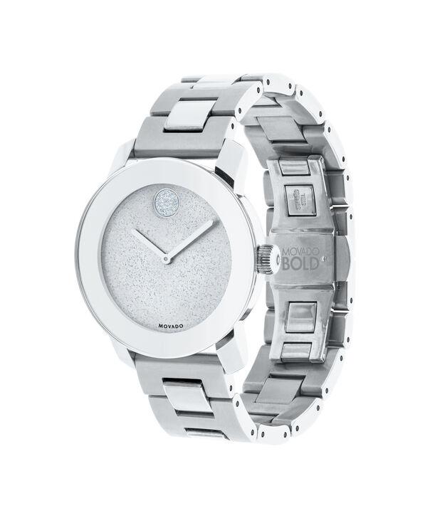 MOVADO Movado BOLD3600334 – Montre de 36 mm avec bracelet en métal - Side view