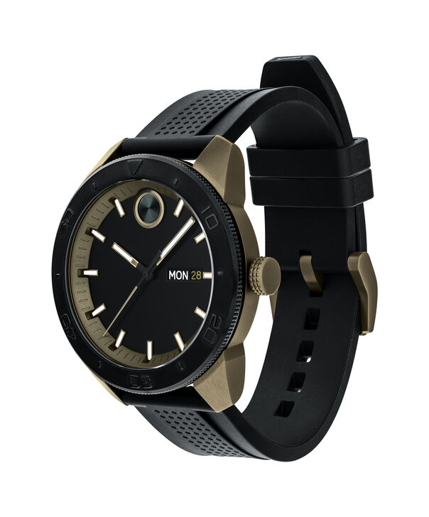 MOVADO Movado BOLD3600452 – 43.5 mm BOLD Sport strap watch - Side view