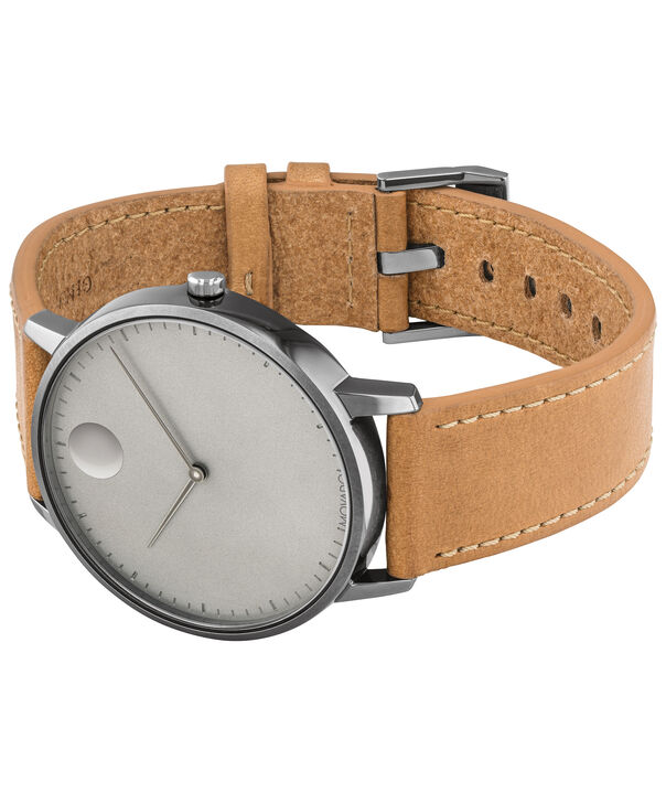 MOVADO Movado Face3640003 – Men's 41 mm strap watch - Side view