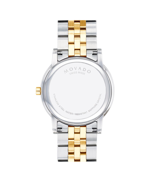 MOVADO Museum Classic0607200 – Men's 40 mm bracelet watch - Back view
