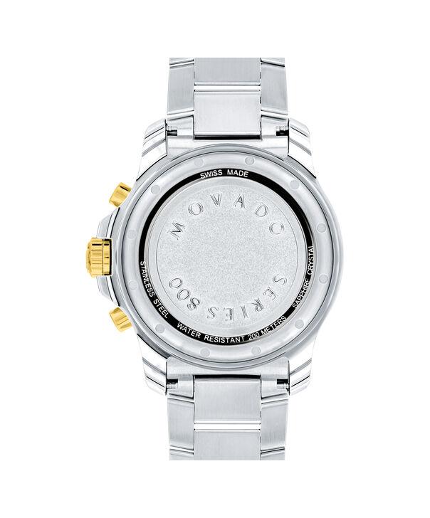 MOVADO Series 8002600146 – Montre-bracelet à cadran de 40 mm pour hommes - Back view