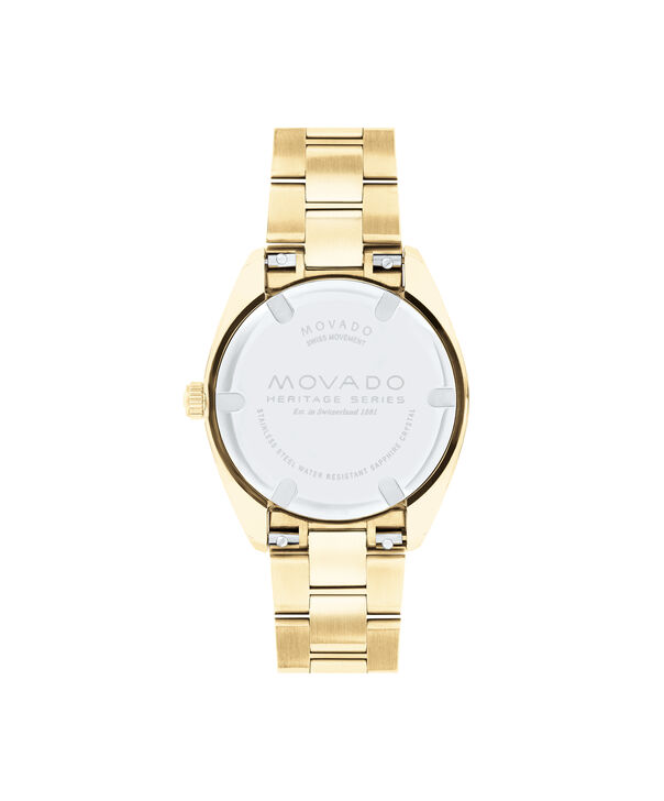 MOVADO Movado Heritage Series3650070 – Women's 31 mm bracelet watch - Back view