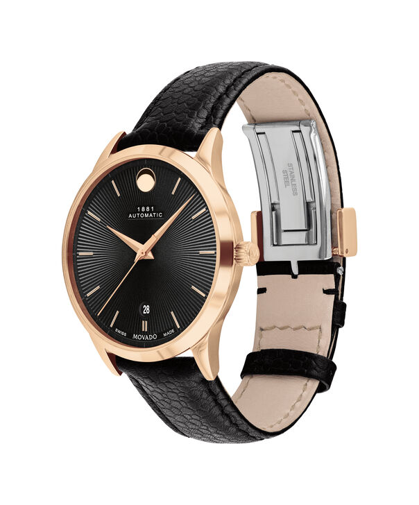 MOVADO 1881 Automatic0607457 – 39mm 1881 Automatic on Strap - Side view